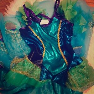 Two girls dress up costumes. Size 7-8.